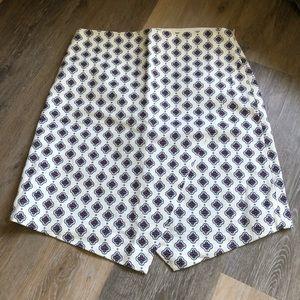 LOFT Faux Wrap Sarong Midi Skirt NWT size 4